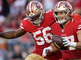 Los 49ers y Patriots sólidos en la NFL