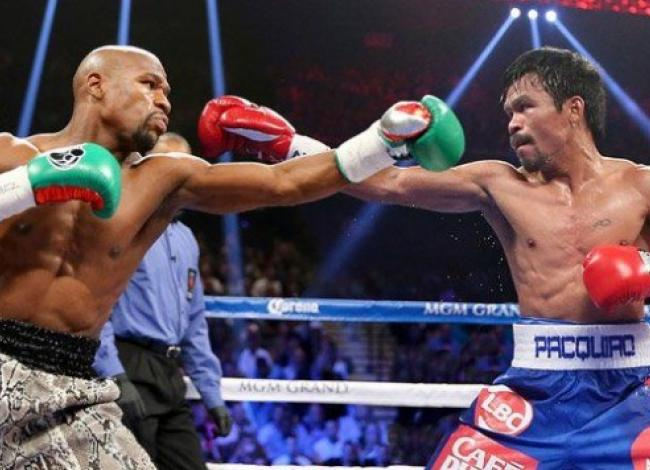Manny Pacquiao y Floyd Mayweather se sacan chispas en redes sociales