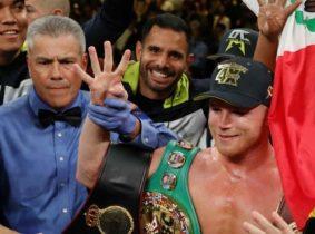 'Canelo' Álvarez se proclama campeón de la OMB
