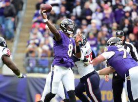 Los Ravens completaron seis victorias en línea