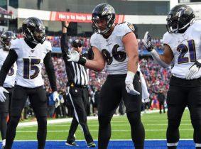 Ravens aseguraron un lugar en la Postemporada de la NFL