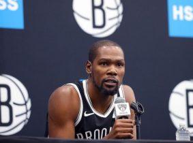 Kevin Durant anunció que no volverá en lo que queda de la temporada de la NBA