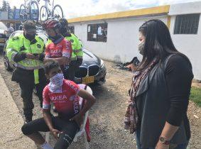 Nairo Quintana sufrió un accidente en carretera durante un entrenamiento en Boyacá