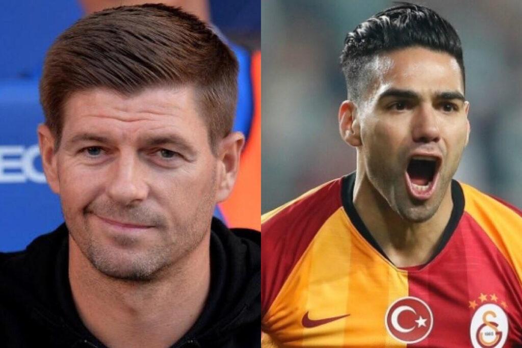 "El respeto de Steven Gerrard al Galatasaray de Radamel Falcao: ""Son fuertes arriba"""