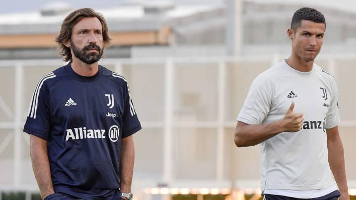 """Andrea Pirlo: """"Nunca imaginé que iba a dirigir a Cristiano Ronaldo en la Juventus"""""""