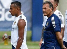 Miguel Ángel Russo y la ayuda que le está brindando Boca Juniors a Sebastián Villa
