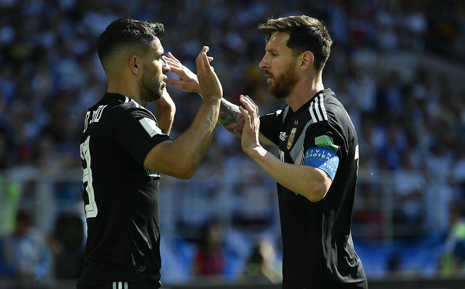 """""""Lionel Messi y yo somos como un matrimonio desgastado"""": Sergio Agüero"""
