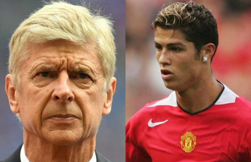 Arsene Wenger confiesa que existió un acuerdo entre Cristiano Ronaldo y Arsenal