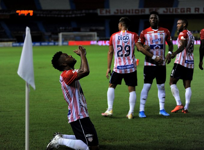 Pegó primero: Junior de Barranquilla le ganó 1-0 a Deportes Tolima en la ida de cuartos de final