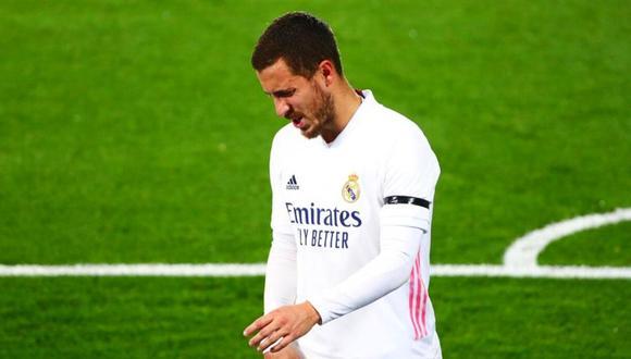 Continúa el calvario con las lesiones: Eden Hazard estará tres semanas de baja