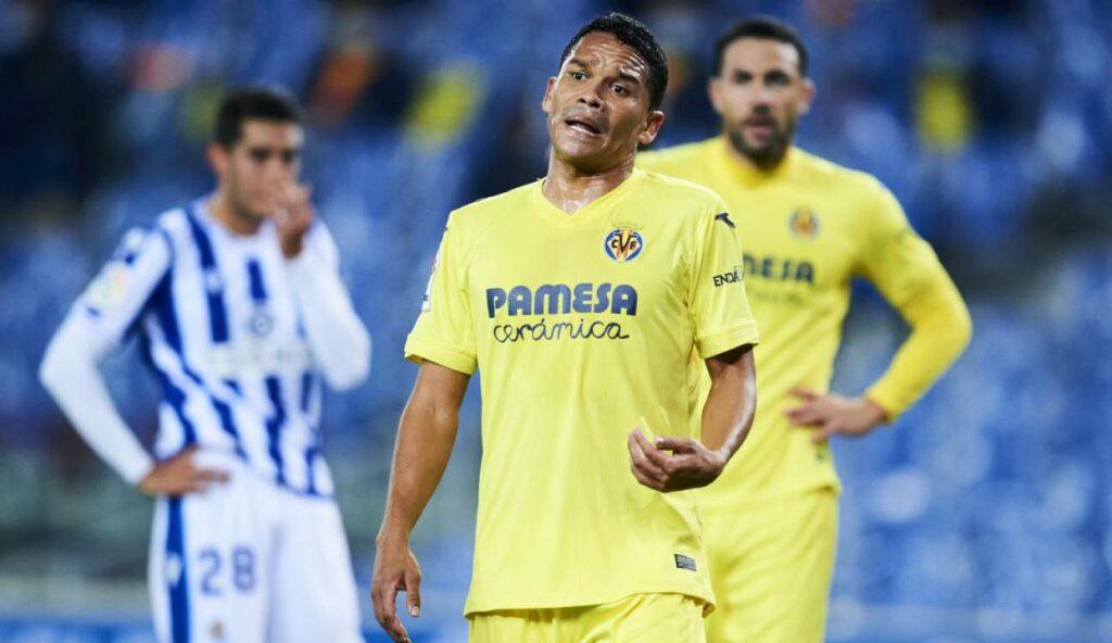 Baja para Villarreal: Carlos Bacca estará tres semanas fuera por lesión
