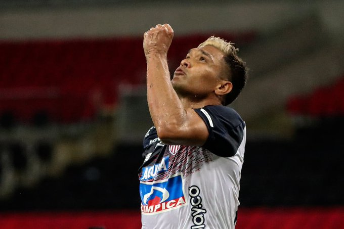 Celebra Junior: Teófilo Gutiérrez, habilitado para jugar en Copa Sudamericana