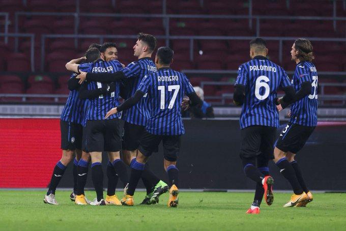 Luis Fernando Muriel volvió al gol y Atalanta clasificó a octavos de Champions League