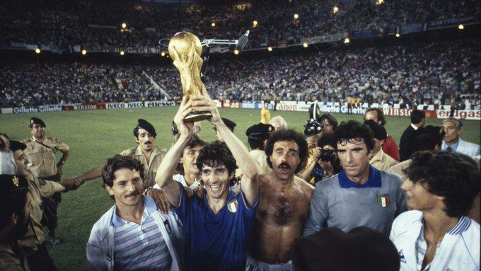 Falleció Paolo Rossi, figura de Italia en el Mundial de 1982