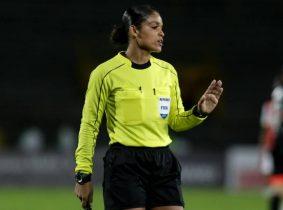 ¡Histórico! Por primera vez en el fútbol colombiano masculino el cuarteto arbitral será de mujeres