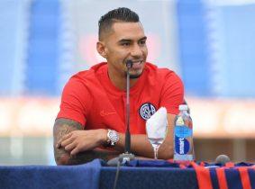 """""""Mi intención es dejar huella en San Lorenzo. Estoy muy feliz de estar acá"""": Yeison Gordillo"""